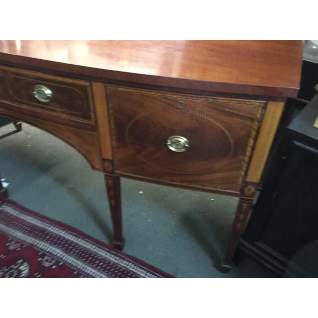 Baker Furniture Company Baker Furniture Sideboard Colonial Williamsburg For Sale - Image 4 of 10