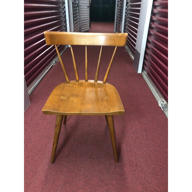 Wood 1960s Paul McCobb for Planner Group Chair For Sale - Image 7 of 7
