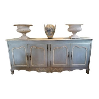 19th C. French Louis XV Sideboard For Sale