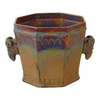 Modern Italian Ceramic Cachepot, Late 20th Century For Sale