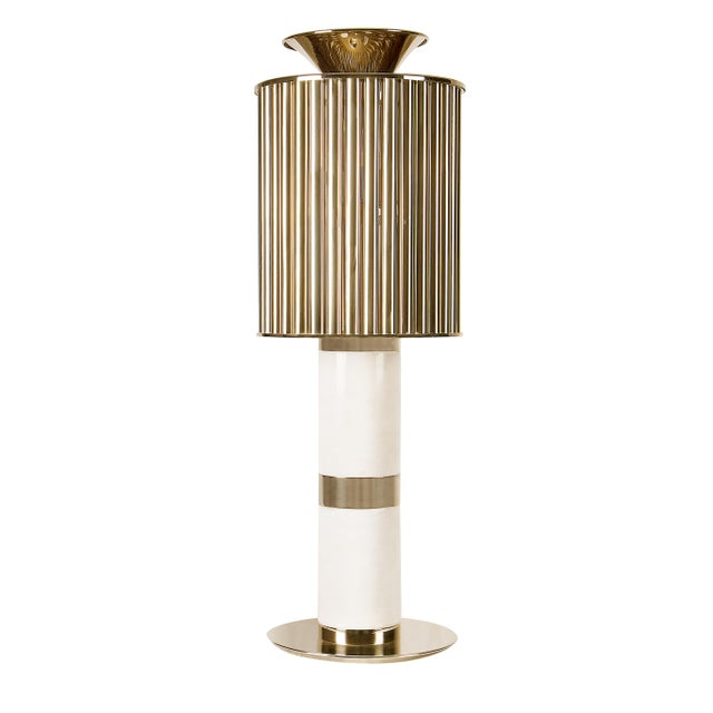 Metal Donna Table Lamp From Covet Paris For Sale - Image 7 of 11