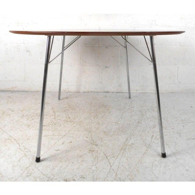 Mid-century Modern Teak Dining Table by Arne Jacobsen for Fritz Hansen - Image 2 of 7