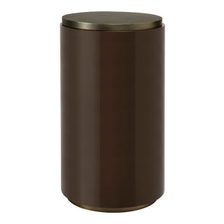 Veere Grenney Collection Cigarette Table in Chocolate For Sale