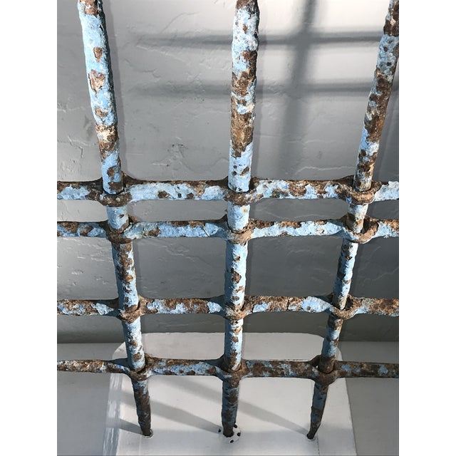 1920s 1920s Abstract Architectural Iron Sculpture Wall Hanging For Sale - Image 5 of 9
