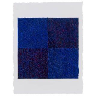 Louise P. Sloane Blues Violets 2017 For Sale