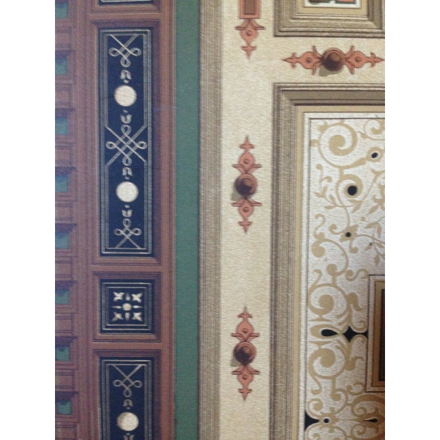 German Decorative Ceiling Print - Image 3 of 5