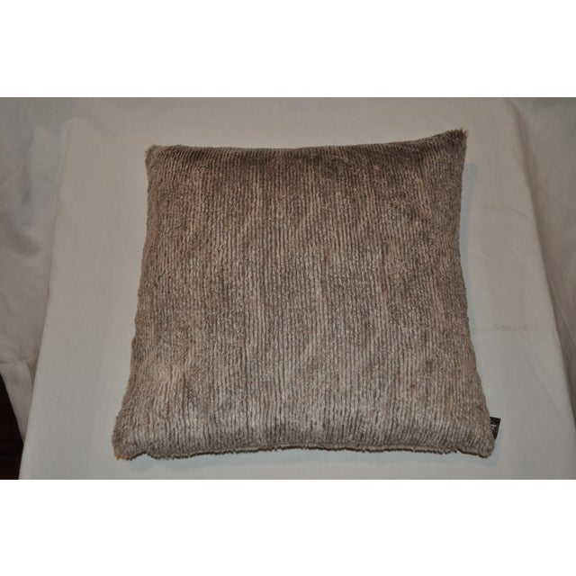 Aviva Stanoff Faux Fur Pillows - Pair - Image 5 of 7