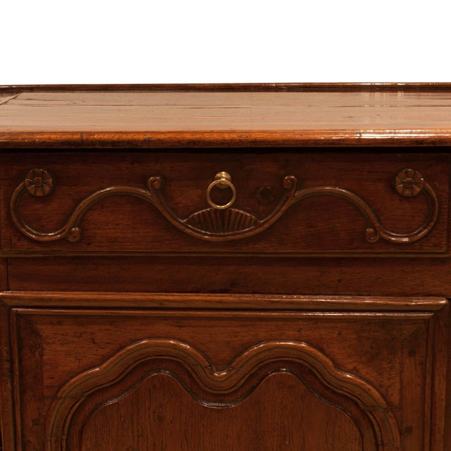 French Italian Louis XV Style Elm Enfilade For Sale - Image 3 of 6