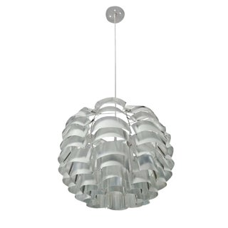 1960s Bauhaus Max Sauze French Pendant Chandelier For Sale