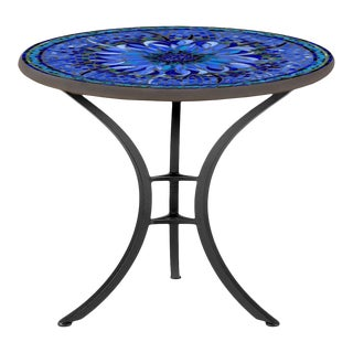 """Bella Bloom 30"""" Bistro Table with Black Base For Sale"""