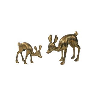 Brass Deer - Pair