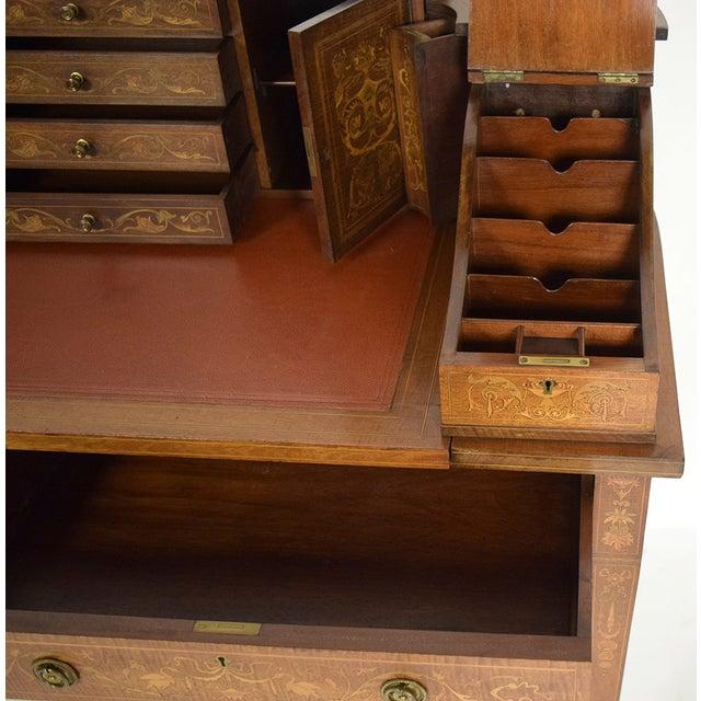 1900s English Carlton Desk - Image 8 of 11