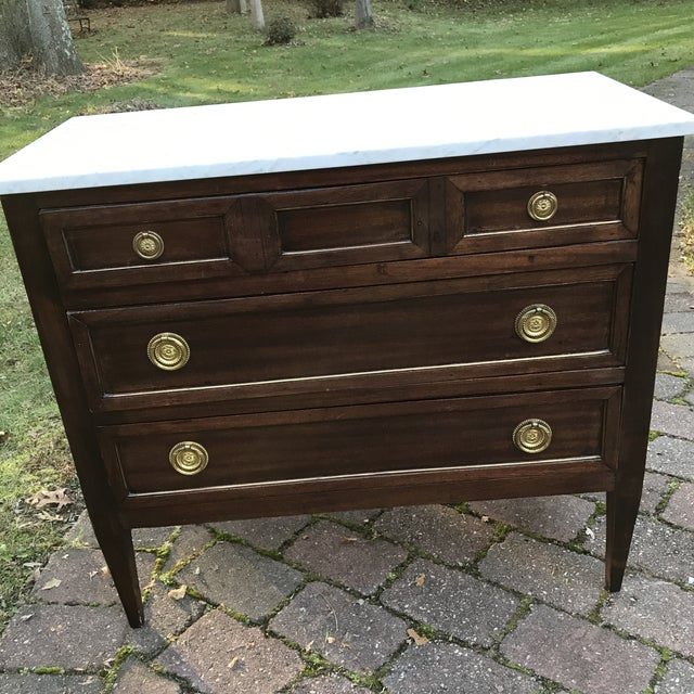 1960s French Empire Style Commode For Sale - Image 10 of 10