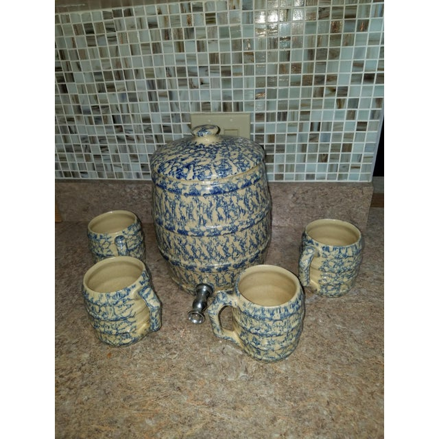 20th Century Americana Robison Ransbottom Lemonade Set - 5 Pieces For Sale - Image 9 of 9