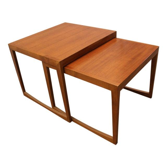 Danish Modern George Tanier Teak End Tables - Pair - Image 1 of 10