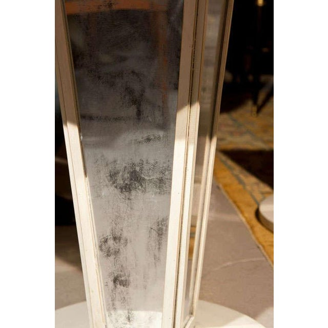 Maison Jansen Mirrored Side Tables - A Pair For Sale In New York - Image 6 of 8