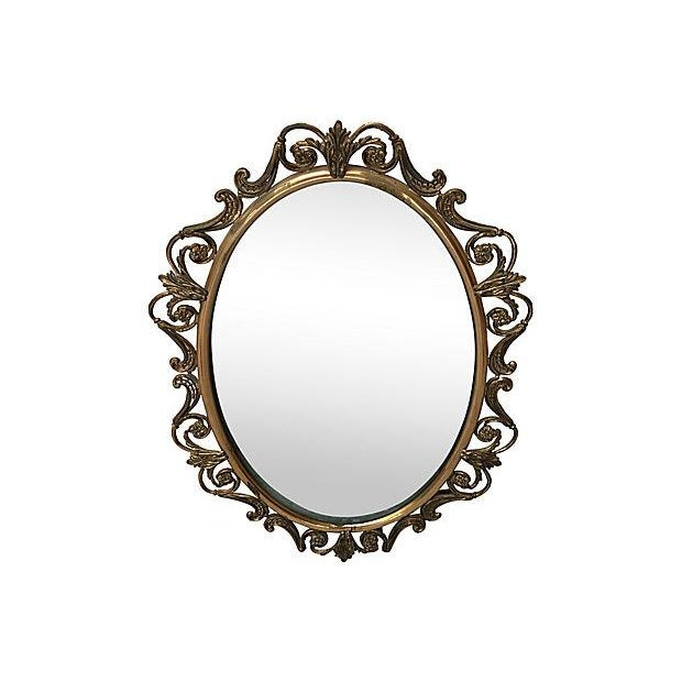 Brass Convex Mirror - Image 2 of 8