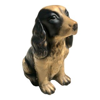 Vintage Cocker Spaniel Figurine For Sale