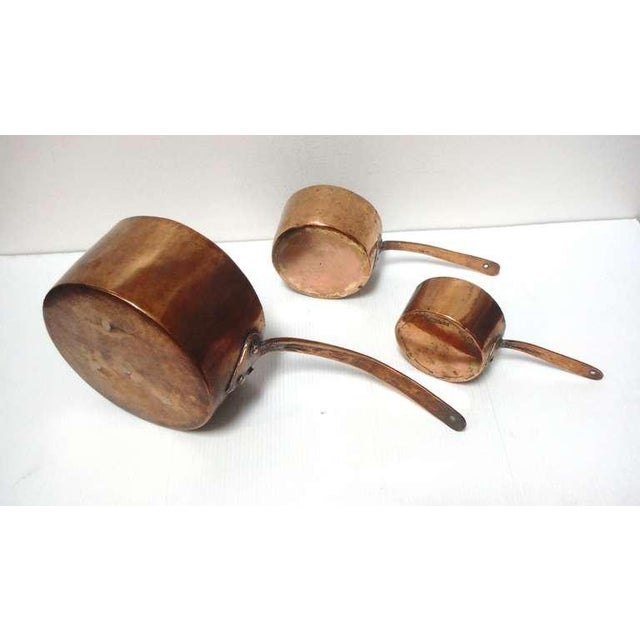 Exquisite Collection Of Three 18th Century Handmade Copper