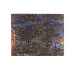 "Pierre Bonnard La Terasse 27.5"" X 35.5"" Poster 1989 Impressionism Multicolor For Sale"