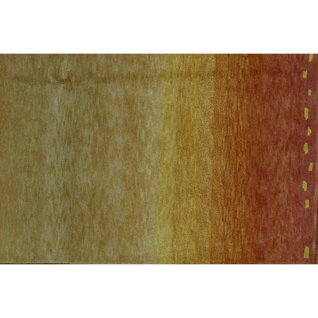 Soumak Design Hand Woven Wool Rug - 6' X 9' - Image 3 of 5