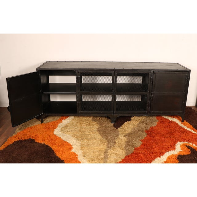 Industrial Iron Cabinet - Image 3 of 10
