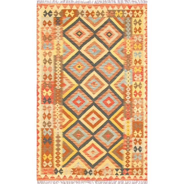 Vintage Turkish Anatolian Kilim For Sale
