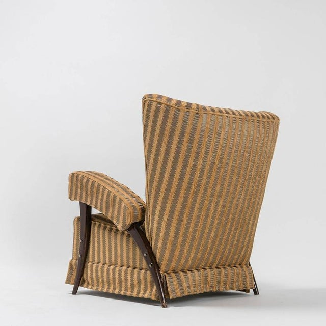 1950s Rare Pair of Italian 1950s Bergères For Sale - Image 5 of 10