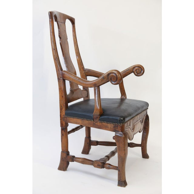 Large Baroque Swedish Armchair For Sale - Image 4 of 13