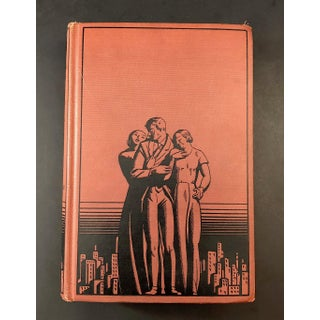 1930's Vintage Art Deco Book Decor Preview