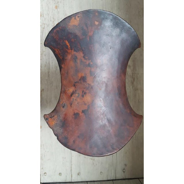 African African Headrest With Leather Strap For Sale - Image 3 of 8