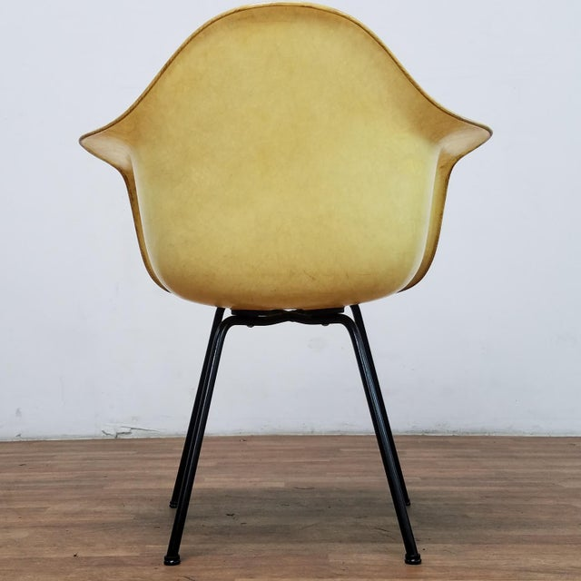 1950s 1950s Danish Modern Charles & Ray Eames for Zenith Plastics Fiberglass Chair For Sale - Image 5 of 13