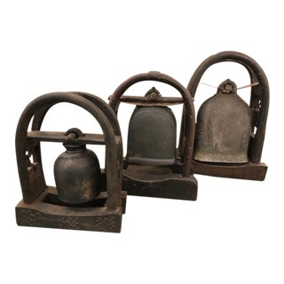 Vintage Ethiopian Bells - Set of 3