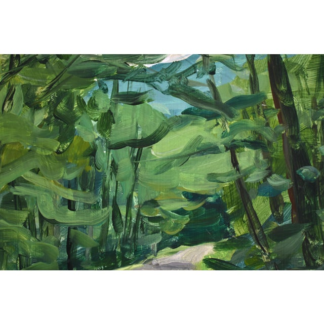 """Contemporary """"Country Road"""" Plein Air Painting For Sale - Image 3 of 5"""
