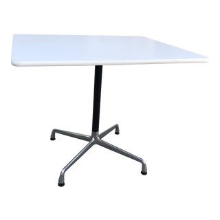 Vintage Eames Aluminum Group Dining Table For Sale