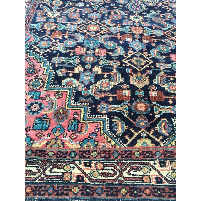 """Antique Persian Rug - 4'1"""" x 6'10"""" - Image 3 of 8"""