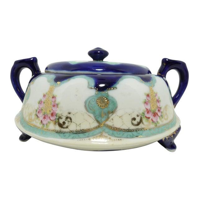 Antique Nippon Biscuit Jar - Image 1 of 7