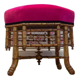 Image of French Ottomans and Footstools