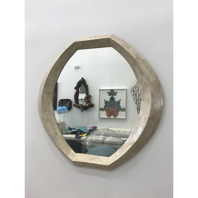 Robert Marcius for Casa Bique Tessellated Stone Mirror For Sale - Image 9 of 9