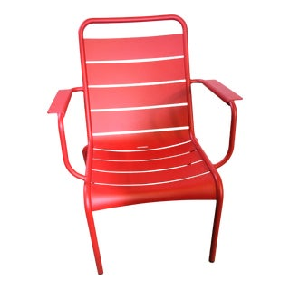 Fermob Outdoor Luxembourg Low Chair For Sale