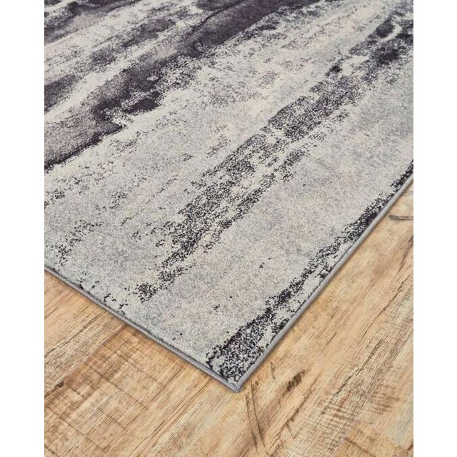 Bleecker Asphalt Rug by Feizy - 5′ × 8′ - Image 2 of 3