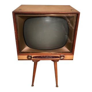 Vintage Philco Swivel Stand Television For Sale