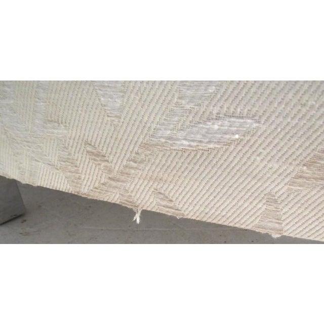 Milo Baughman Mid-Century Circular Sofa For Sale - Image 10 of 10