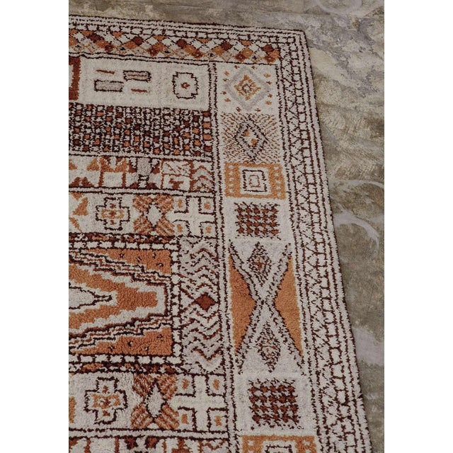 1950s Moroccan Style Portuguese Rug- 8′ × 10′ For Sale In Los Angeles - Image 6 of 10