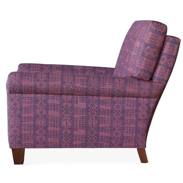 The Vista Upholstered Armchair is an updated take on the classic club chair. It's made by hand in Los Angeles with a...
