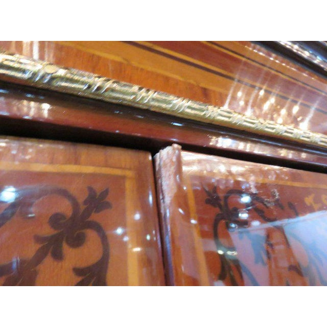 Early 20th Century Three-Piece Italian Style Inlaid Figural Office Set For Sale - Image 5 of 11