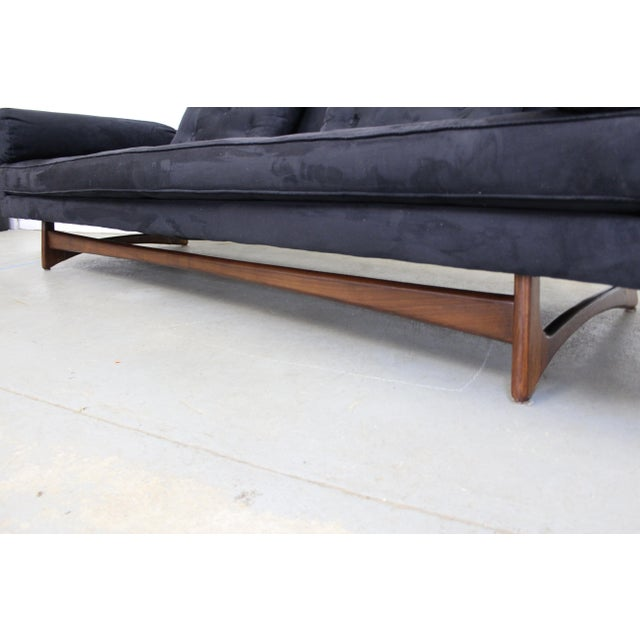 Mid-Century Modern Adrian Pearsall Craft Associates Sculptural Sofa 2408 For Sale - Image 9 of 13