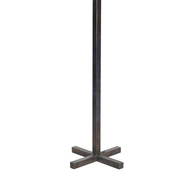 Customizable Bud Bronze Table Lamp with X-Base - Image 2 of 3