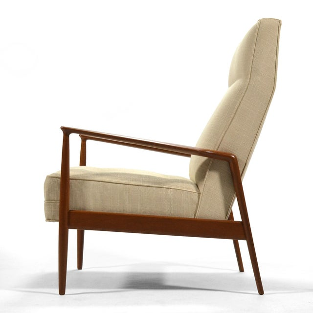 Ib Kofod-Larsen Ib Kofod-Larsen Highback Lounge Chair For Sale - Image 4 of 9