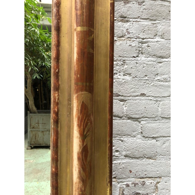 19th Century French Gilded Mirror For Sale - Image 10 of 12